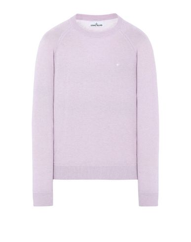 STONE ISLAND 507D3 Sweater Man Pink Quartz USD 155