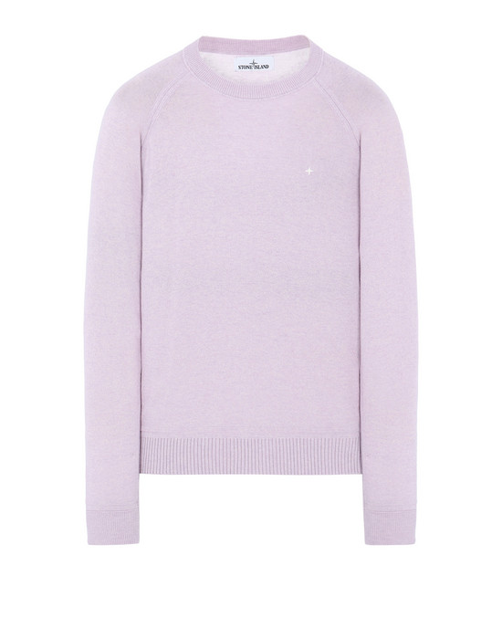 STONE ISLAND 507D3 Sweater Man Pink Quartz