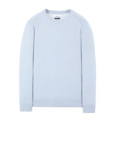 STONE ISLAND 507D3 Sweater Man Sky Blue EUR 147