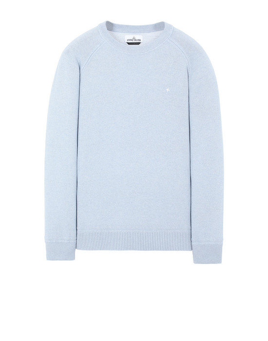 STONE ISLAND 507D3 Sweater Man Sky Blue