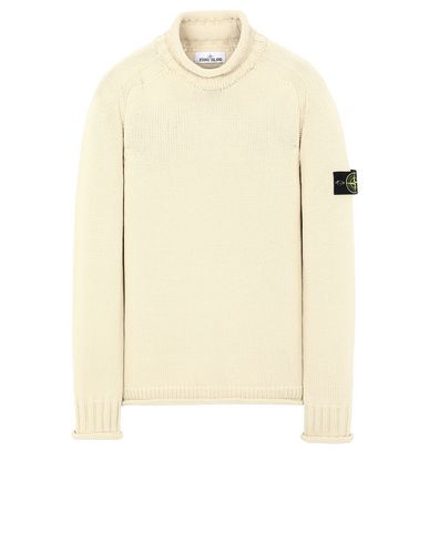 STONE ISLAND 555B8 Sweater Man Beige USD 476