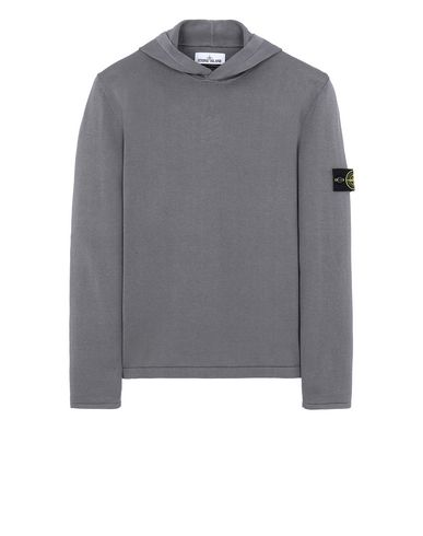 STONE ISLAND 516B3 Sweater Man Blue Grey EUR 320