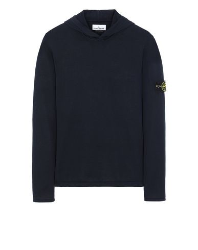 STONE ISLAND 516B3 Sweater Man Blue USD 217