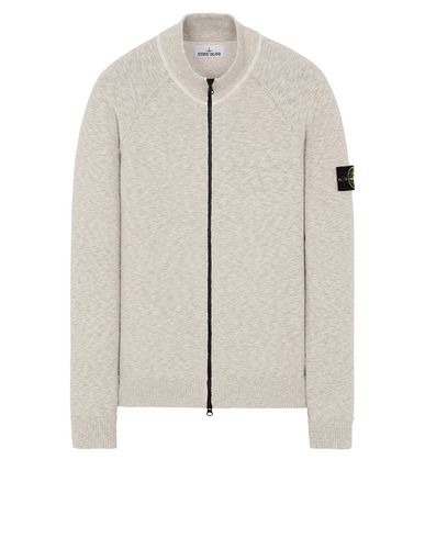 STONE ISLAND 533B0 Sweater Man Dark Beige USD 332