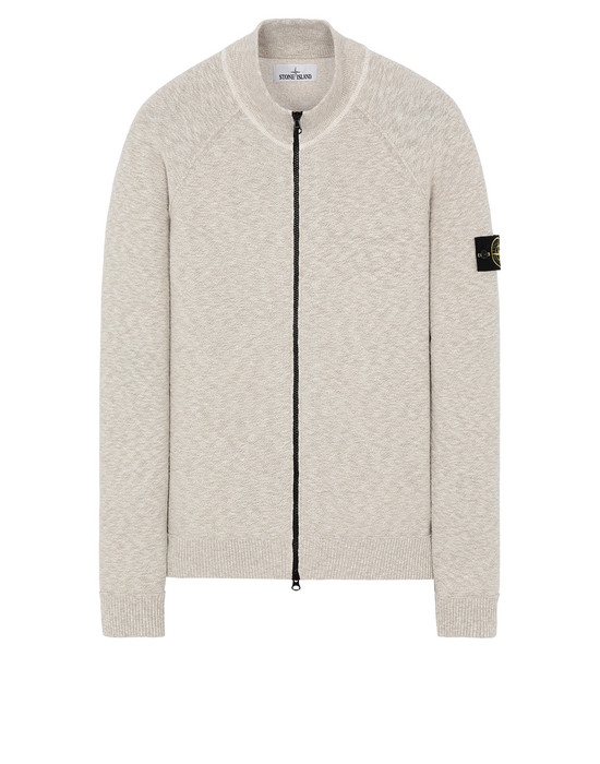 STONE ISLAND 533B0 Sweater Man Dark Beige