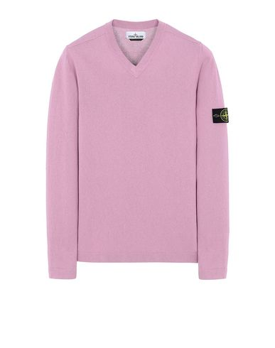 STONE ISLAND 503B9 Sweater Man Pink Quartz USD 207