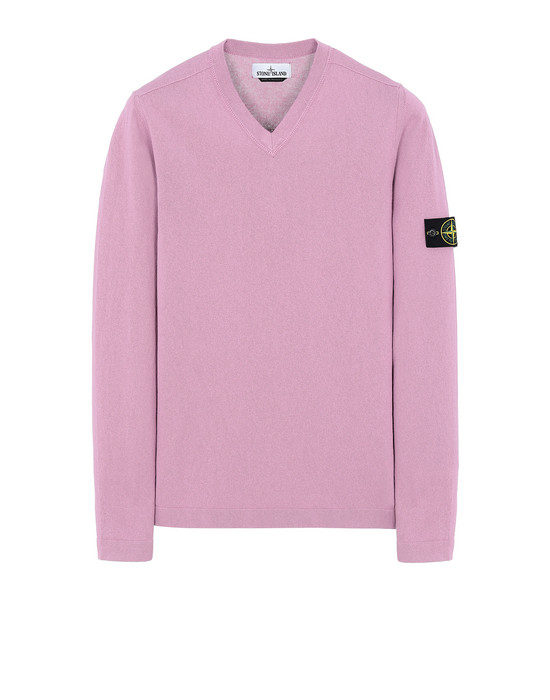 STONE ISLAND 503B9 Sweater Man Pink Quartz