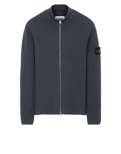 STONE ISLAND 562D8 Sweater Man Blue Grey EUR 221