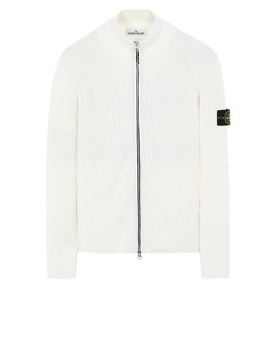 STONE ISLAND 562D8 Sweater Man Ivory USD 307