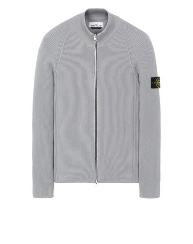 STONE ISLAND 562D8 Sweater Man Dust Grey EUR 334