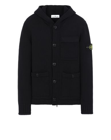 STONE ISLAND 570B8 Sweater Man Black USD 955