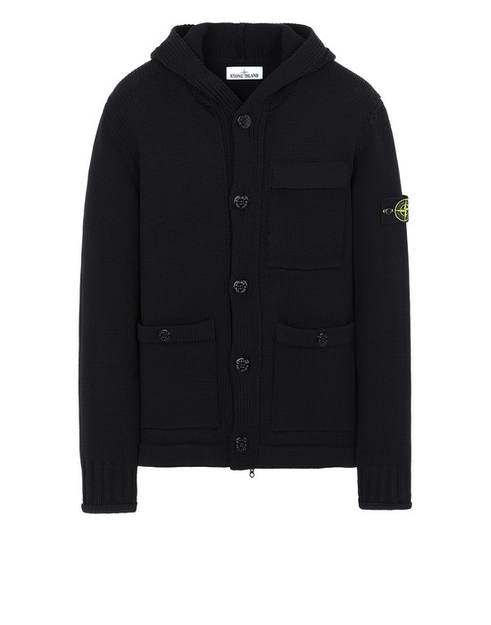 STONE ISLAND 570B8 Sweater Man Black
