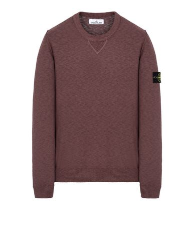 STONE ISLAND 531B0 Sweater Man MAHOGANY BROWN EUR 226