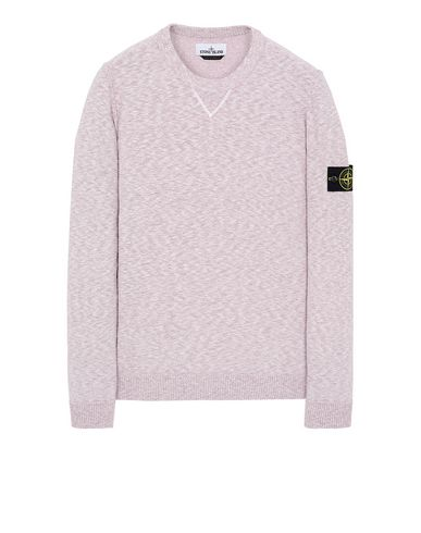 STONE ISLAND 531B0 Sweater Man Pink Quartz USD 160