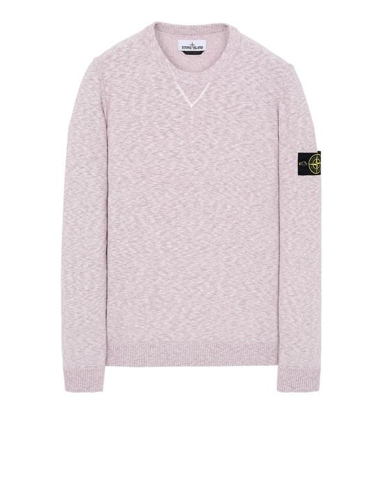 STONE ISLAND 531B0 니트 남성 핑크 쿼츠