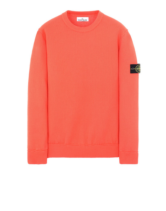 STONE ISLAND 536B1 Sweater Man Lobster Red