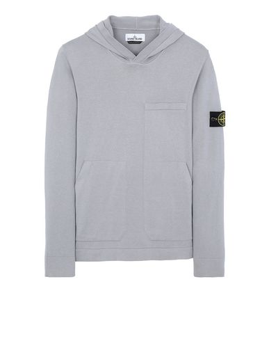 STONE ISLAND 527B2 Sweater Man Dust Grey EUR 326