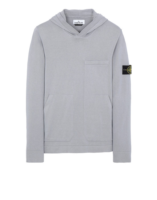STONE ISLAND 527B2 Sweater Man Dust Gray