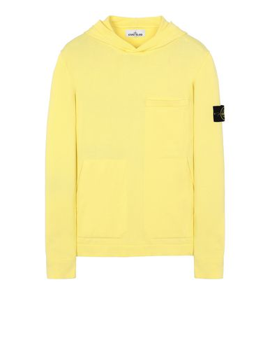 STONE ISLAND 527B2 Sweater Man Lemon EUR 343