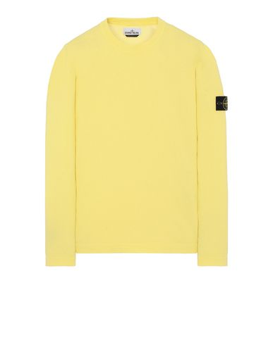 STONE ISLAND 532B9 Sweater Man Lemon EUR 147