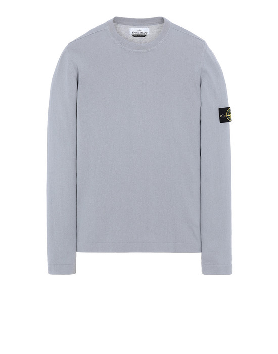 STONE ISLAND 532B9 Sweater Man Dust Grey