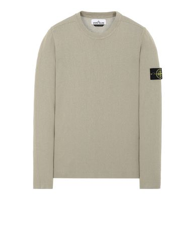 STONE ISLAND 532B9 Sweater Man Dark Beige USD 202