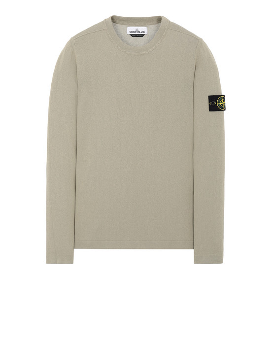 STONE ISLAND 532B9 Sweater Man Dark Beige