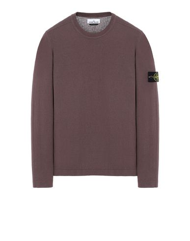 STONE ISLAND 532B9 Sweater Man MAHOGANY BROWN EUR 147