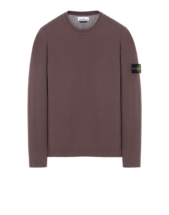 STONE ISLAND 532B9 Sweater Man MAHOGANY BROWN