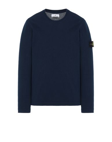 STONE ISLAND 532B9 Sweater Man Marine Blue USD 155