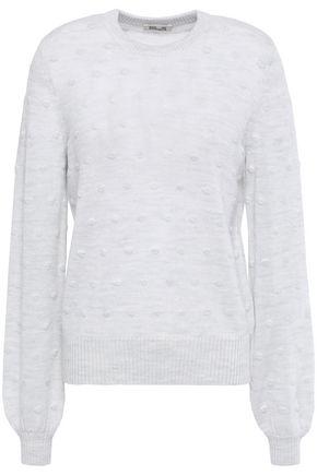 BAUM UND PFERDGARTEN Polka-dot textured wool-blend sweater