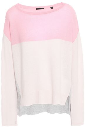 ATM ANTHONY THOMAS MELILLO Color-block cashmere sweater