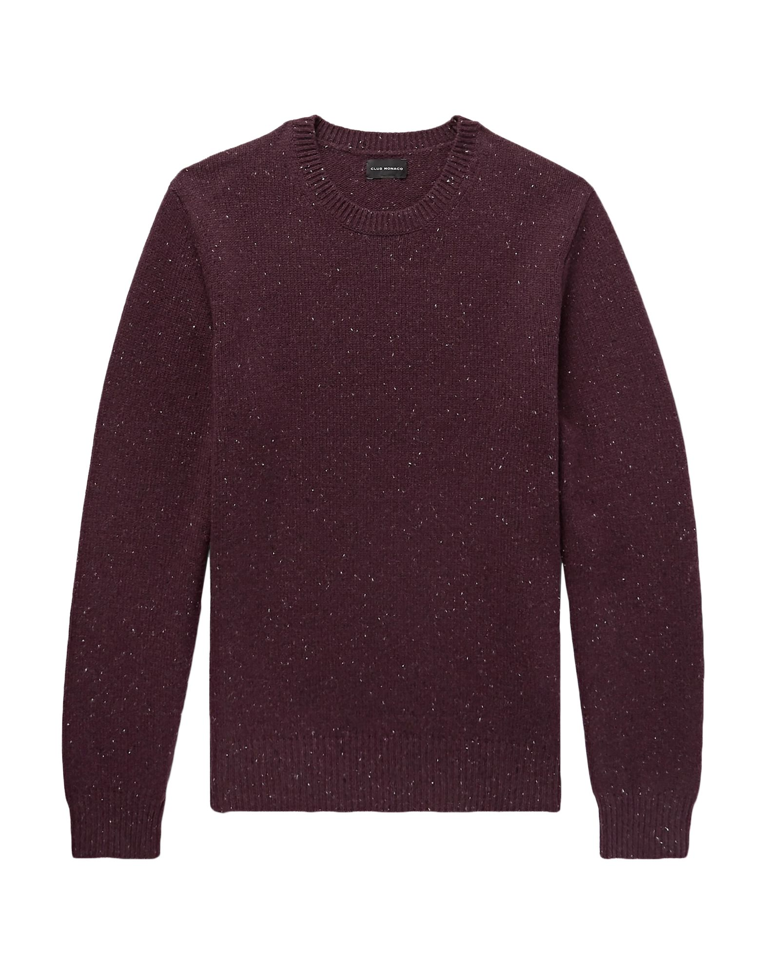 CLUB MONACO Sweaters. knitted, no appliqués, solid color, round collar, lightweight sweater, long sleeves, no pockets. 100% Merino Wool