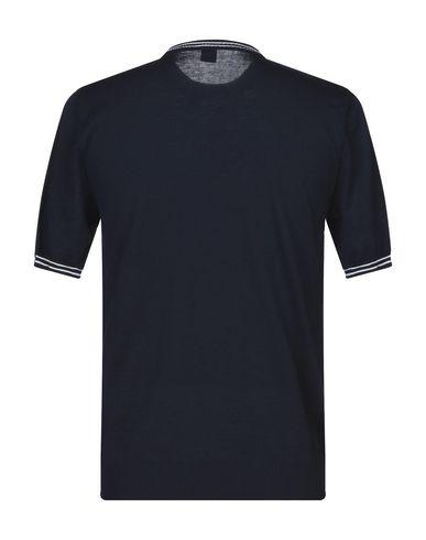 Фото 2 - Мужской свитер ELEVENTY темно-синего цвета