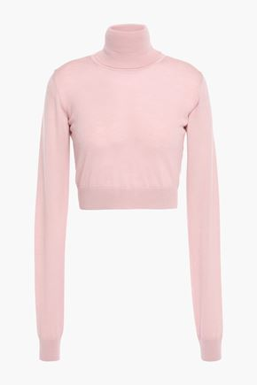 EMILIO PUCCI Cropped wool turtleneck sweater