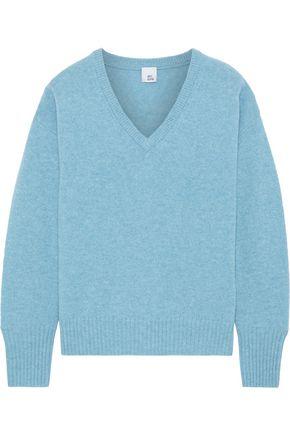 IRIS & INK Sage mélange cashmere sweater