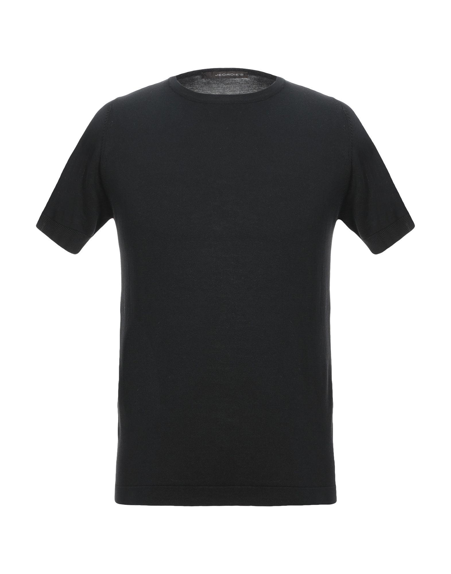 《セール開催中》JEORDIE'S メンズ プルオーバー ブラック S コットン 100%
