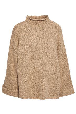 LINE Mélange cotton-blend turtleneck sweater