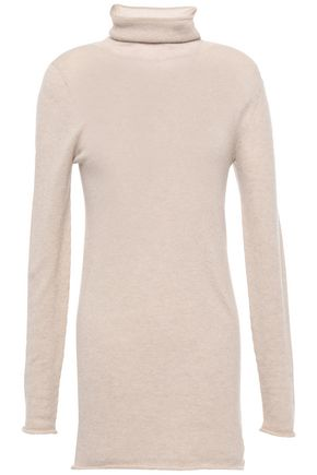 AGNONA Mélange cashmere turtleneck sweater
