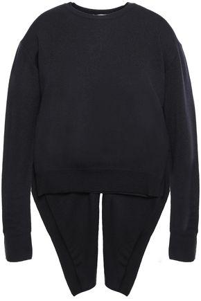 CEDRIC CHARLIER Asymmetric wool sweater