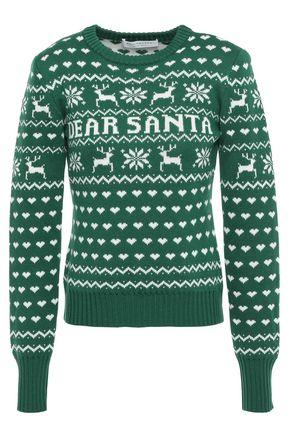 PHILOSOPHY di LORENZO SERAFINI Jacquard-knit wool sweater