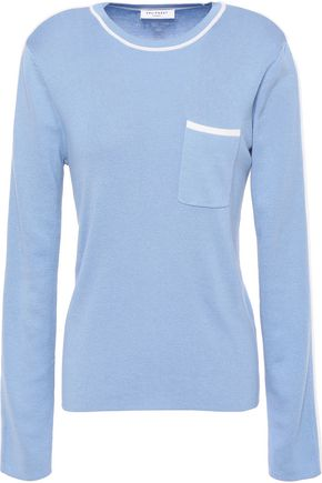EQUIPMENT Lison silk and cotton-blend sweater