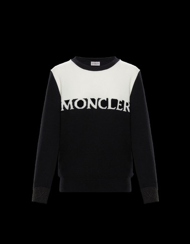 CREWNECK Black Knitwear Woman