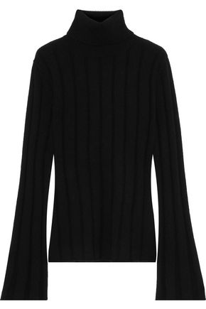 EACH X OTHER Ribbed merino wool and cashmere-blend turtleneck sweater