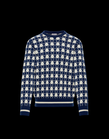 CREWNECK Blue Category Crewnecks Man