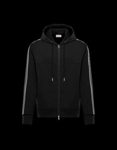 CARDIGAN Black Tracksuit Man