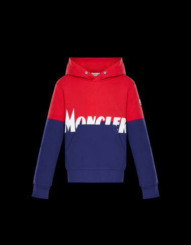 SWEATSHIRT Red Junior 8-10 Years - Boy