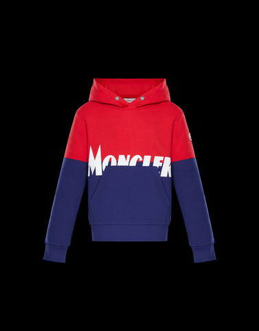 SWEATSHIRT Red Kids 4-6 Years - Boy Man