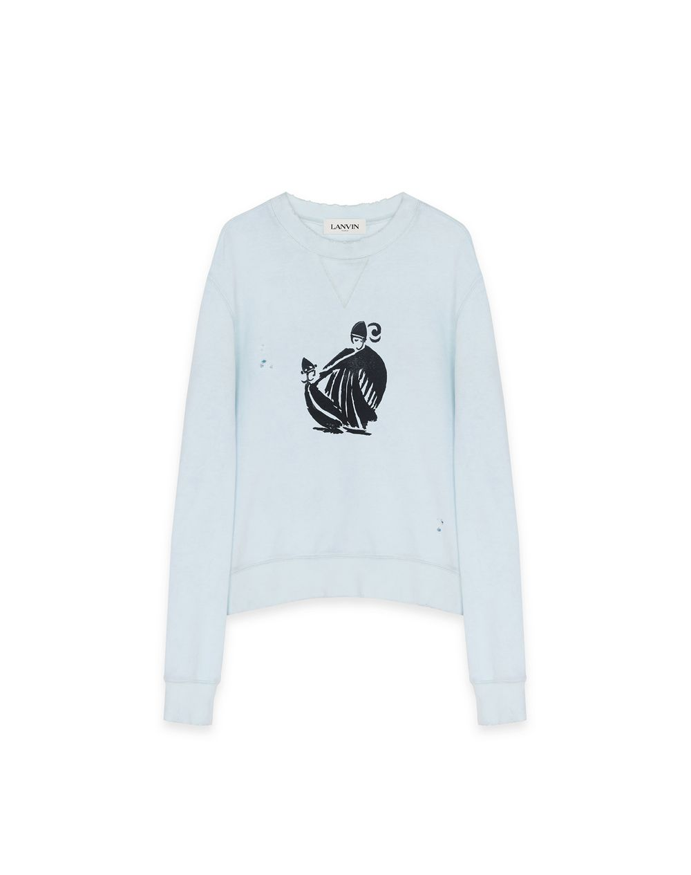 MOTHER AND CHILD SWEATSHIRT - Lanvin