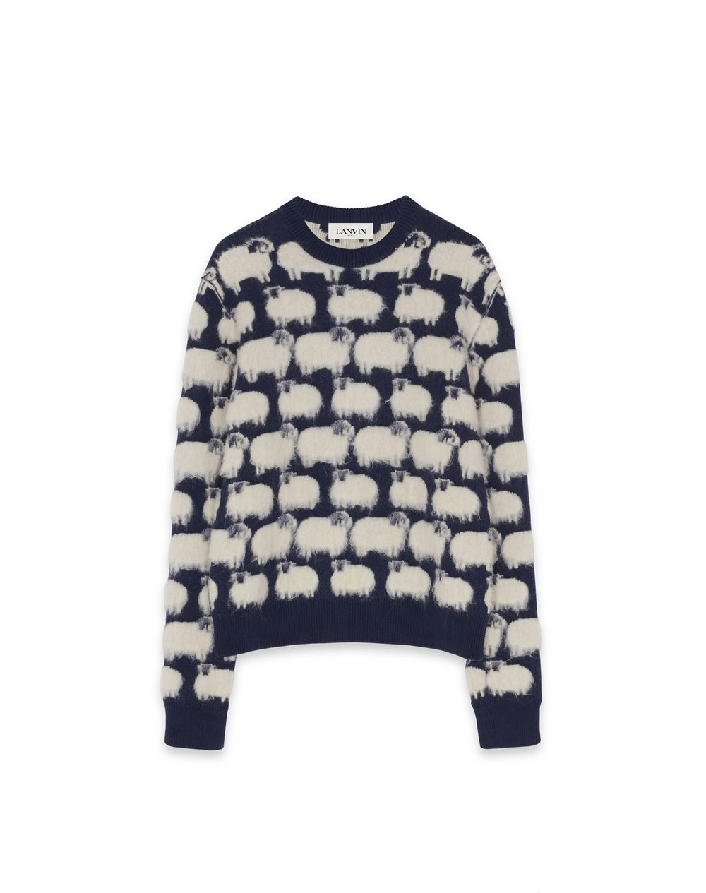 PATTERNED WOOL JUMPER  - Lanvin